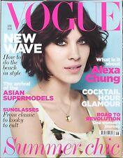 Vogue GB estilo Revista Junio 2011 - Alexa Chun - JOSH Olins