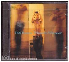 NICK KAMEN- WHATEVER WHENEVER *NUOVO SIGILLATO SEALED* 1992 Warner Music