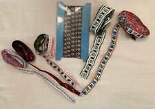 SEWING SUPPLIES LOT OF VINTAGE BRAIDED TRIM 7 STYLES