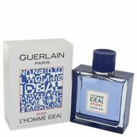 L'homme Ideal Sport By Guerlain Eau De Toilette Spray for Men 3.3oz/100ml NIB