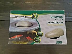 TetraPond De-Icer, Thermostatically Controlled Winter Survival Solution For Fish