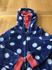 John Lewis Blue & White Dotty Onsies Size 10 Years Old