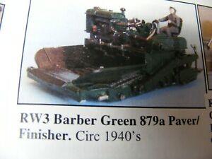 Barber Green 879a Asphalt Paving Machine Kit 1/76 (OO) By Langley Models