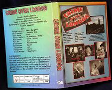 CRIME OVER LONDON - DVD - Margot Grahame, Basil Sydney
