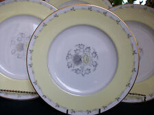 WEDGWOOD CYNTHIA  W3976 (c.1950-1962)- LUNCHEON PLATE(s)- EXCELLENT!  GILT!