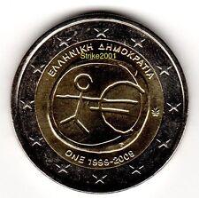 2 EURO COMMEMORATIVO GRECIA 2009 EMU 10° Anniversario