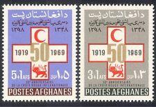 Afghanistan 1969 Red Cross League/Medical/Health/Welfare 2v set (n28169)