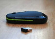 Slim Wireless Optical Mouse 4 Laptop Notebook - great for travel, Car or Boat