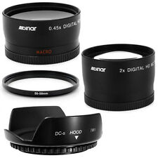 55mm Lens Hood Petal Wide Angle,Telephoto for Sony SAL-1855 18-55mm f/3.5-5.6 DT