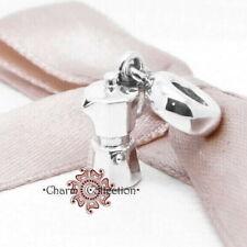 Pandora, S925 Espresso Can Pendant Dangle Bracelet Charm, NEW, 791514