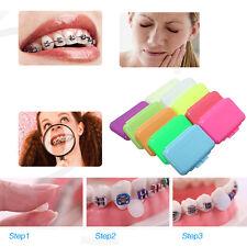 10Pcs Orthodontic WAX For BRACES Irritation Dental Relief Hot