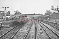PHOTO  VIEW TOWARDS NEWBURY RAILWAY STATION