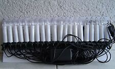 20ER LED cadena árbol de Navidad iluminación riffelkerzen Velas Para Árboles