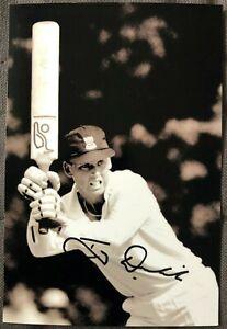 Australia Cricket Legend Tony Dodemaide Signed Photo