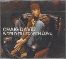 Craig David - World Filled With Love - Single-CD, 3 Tracks, EU, 2003 Wildstar