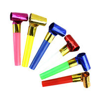 10x Funny Blowouts Party Birthday Blow Outs Noisemakers Kids Child Toy FavoursOJ
