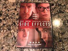 Side Effects DVD! 2013 Drama Thriller! Stoker Nightcrawler Dressed To Kill Seven