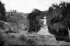 New 5x7 Civil War Photo: View of Antietam Creek at Sharpsburg, Maryland - 1862