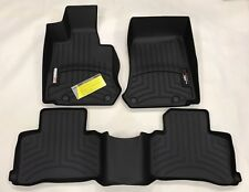 WeatherTech FloorLiner Mats for Mercedes GLC-Class - 2016-2018 1st 2nd Row Black