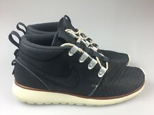 Details about Nike Roshe Run One Sneaker Boot 639165 001 Quilted Chukka Size 9 Jordan Air Max