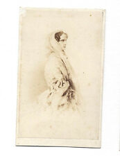 ALEXANDRA FEODOROVNA Hohenzollern Princess Prussia EMPRESS RUSSIA. Old CDV PHOTO