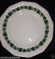"ROSENTHAL GERMANY CLASSIC ROSE 7 7/8"" BREAD & BUTTER PLATE GREEN IVY EMBOSSED"