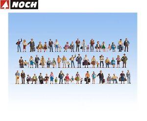 NOCH H0 16070 Mega Spar-Set mit 60 Figuren - NEU + OVP