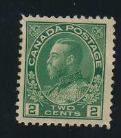 Canada Stamp Scott #107, Mint Hinged