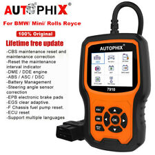 OBD2 Scanner ABS SRS SAS EPB TPMS Oil Light BMS Check for BMW Mini Rolls-Royce