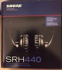SHURE Sealed Professional Studio Headphones SRH 440