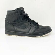 Nike Mens Air Jordan 1 Retro 555088-002 Black Running Shoes High Top Size 13