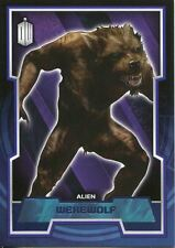 Doctor Who 2015 Purple Parallel [99] Base Card #115 Werewolf