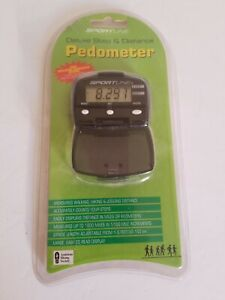Sportline  LED Pedometer Deluxe Step & Distance New Sealed