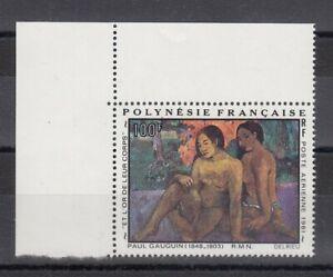 TIMBRE STAMP 1 POLYNESIE Y&T#160 ART PEINTURE GAUGUIN NEUF**/MNH-MINT 1981 ~R56