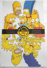 "THE SIMPSONS 11""X17"" Original Promo Movie Poster SDCC 2017 MINT 30th Anniversary"