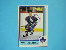 1986/87 O-PEE-CHEE NHL HOCKEY CARD 174 RUSS COURTNALL ROOKIE NM SHARP+ 86/87 OPC