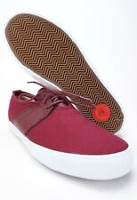 NEW IN BOX - LAKAI ALBANY ECHELON Mens Skate Shoes Size 8.5 Port Canvas Red Wine