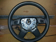 HOLDEN VECTRA 2006 STEERING WHEEL BLACK IN COLOUR 03 04 05 06 - SEE DESCRIPTION