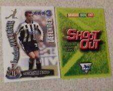 SHOOT OUT CARD 2003/04 (03/04) - Green Back - Newcastle Untd - Jonathan Woodgate