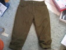 "musto brown tweed wool blend plus fours hunting shooting trousers size 34"" waist"