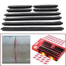 8pcs Car Accessories Door Edge Guard Strip Bumpers Protector Anti-collision Trim