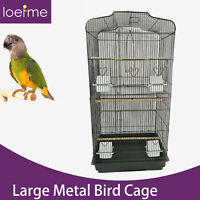"""Large Flight Cockatiel Conure Parakeet Bird Cage (36"""" Bird Cage Without Stand)"""