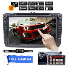 FOR AUTORADIO VW GOLF 5 6 PASSAT POLO TOURAN EOS TIGUAN GPS 2DIN BLUETOOTH  DVD