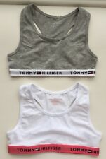 Tommy Hilfiger Girls 2 Bralette X 2 Age 14-16 Without Tags
