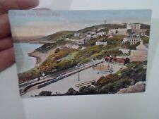 Vintage Colour Tinted Postcard DALKEY FROM SORRENTO PARK     §A216