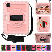 """For iPad 9.7"""" (6th 5th Generation) Pro 11"""" Air 2 Shockproof Rugged Case w/ Stand"""