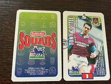Subbuteo Squads 1996 Trading Card: West Ham United - TONY COTTEE