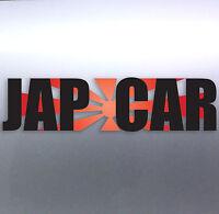 Jap Car with Rising Sun Race Japan Car vinyl Sticker 200×50mm aussie made design