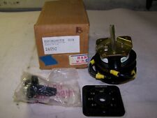 New Electroswitch Series 24 Rotary Switch 20 Amp 600 Vac 15 Amp 600 Vac 2405c