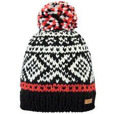Barts Log Cabin Beanie Hat Black